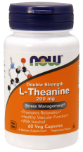 NOW L-Theanine 200 мг (60 кап)