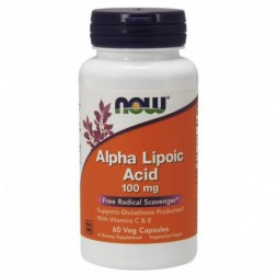 NOW Alpha Lipoic Acid 100 мг (60 кап)