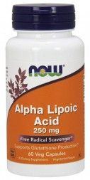 NOW Alpha Lipoic Acid 250 мг (60 кап)